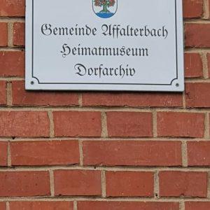 Rückblick: Besuch des Heimatmuseums in Affalterbach